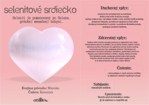 5. Selenit srdiečko ruzove (doplnene zdravotny vpliv)